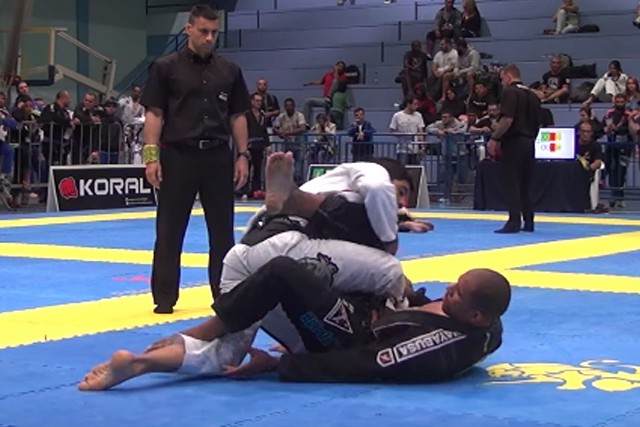 Erberth Santos and the foot lock that won the Floripa International Open