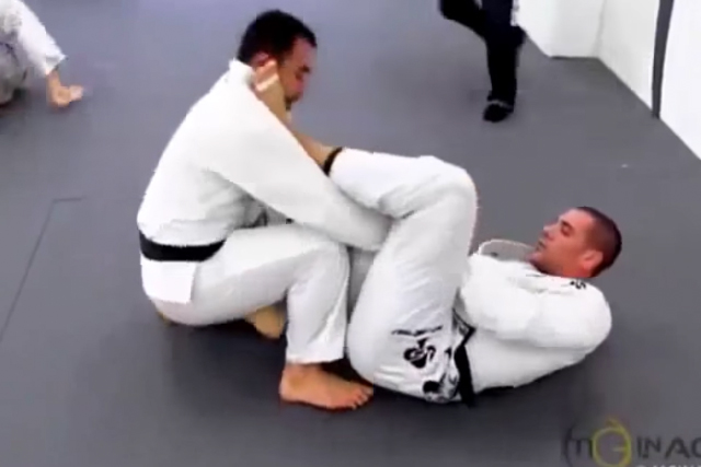 Video: Rafael Lovato Jr. rolls with Marcelinho Garcia in N.Y.