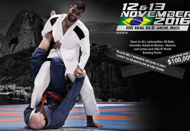 Jiu-Jitsu Grand Slam to gather more than 2,000 athletes at Olympic Arena