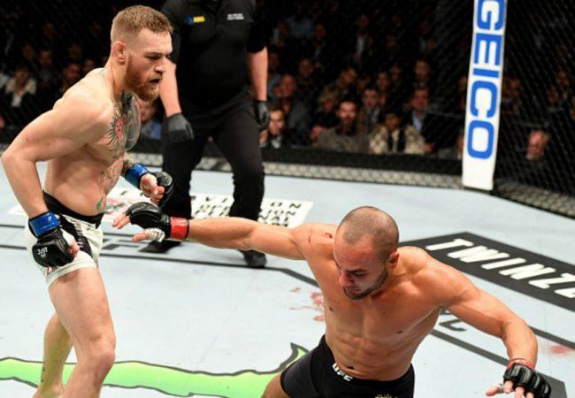 Vídeo: Conor McGregor nocauteia Alvarez e conquista segundo cinturão no UFC NY