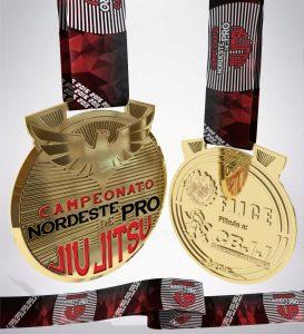 Medalha do Nordeste Pro. Foto: Divulgação