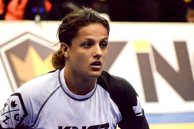Nathiely venceu e convenceu no Mundial de Jiu-Jitsu Sem Kimono. Foto: Léo Bandeira