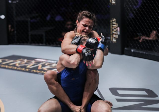 Watch: Michelle Nicolini subs Mona Samir via RNC at ONE Championship