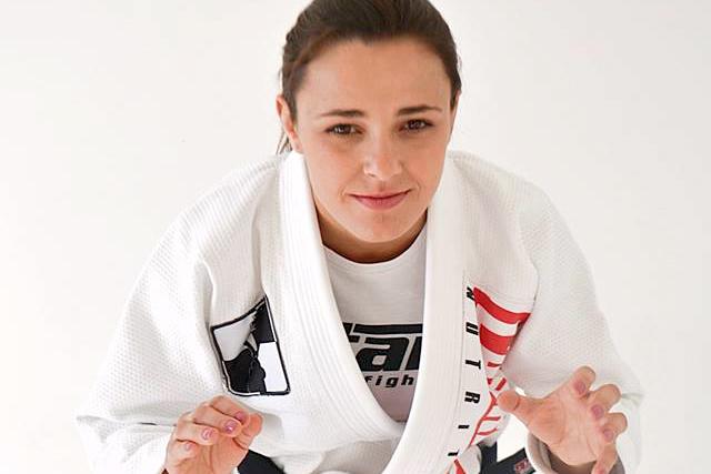 Black Belt World Champion Michelle Nicolini. Photo: Personal archive