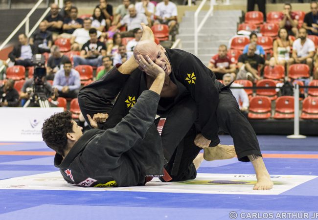 These are the black-belt finalists of the Abu Dhabi World Pro