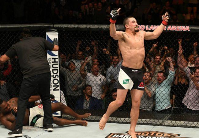 Vídeo: Reveja a espetacular vitória de Whittaker sobre Brunson no UFC Melbourne