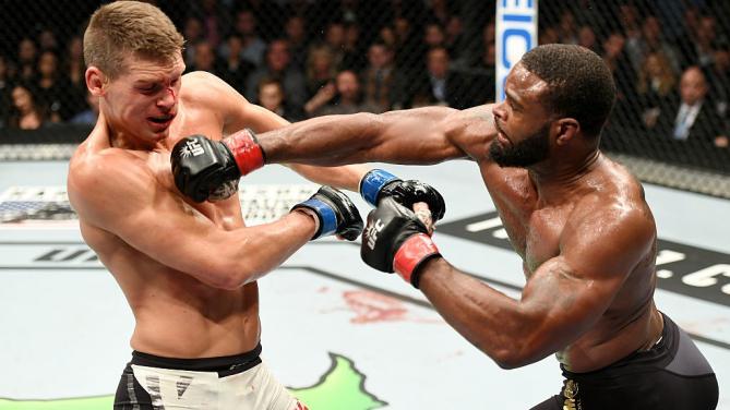 Tyron Woodley vs. Stephen Thompson ruled majority draw. UFC