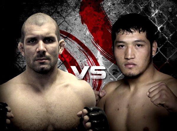 Rodolfo Vieira encara quirguistanês em sua estreia no MMA
