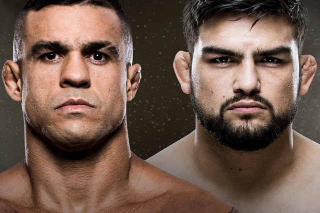 Kelvin Gastelum vs. Vitor Belfort in March in Brazil