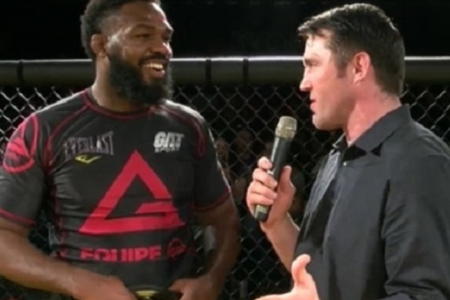 Jon Jones and Chael Sonnen. Facebook