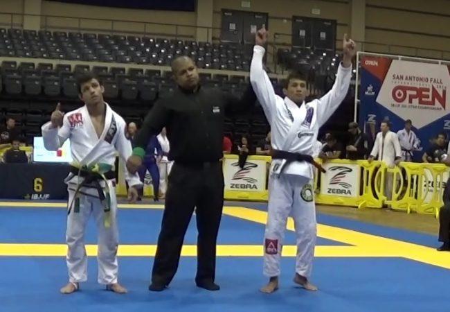 Jiu-Jitsu: O estrangulamento do cem-quilos que valeu ouro no San Antonio Open