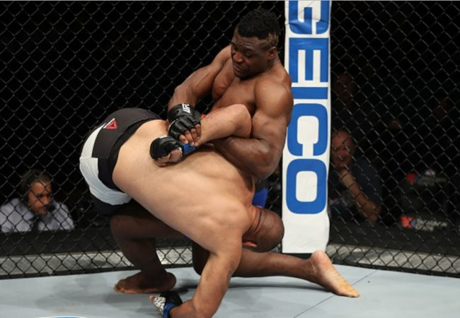 Jiu-Jitsu: Reveja a kimura vencedora de Francis Ngannou no UFC Albany
