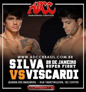 Destaque do evento será a disputa entre Viscardi e Erick, nas regras do ADCC. Foto: Divulgação