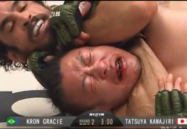 Jiu-Jitsu: Confira o mata-leão de Kron Gracie no Rizin MMA