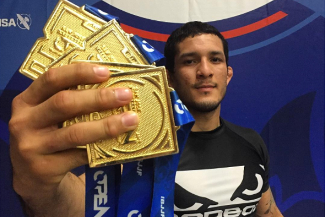 "Lucas ""Hulk"" Barbosa gets quadruple gold at San Jose Open"
