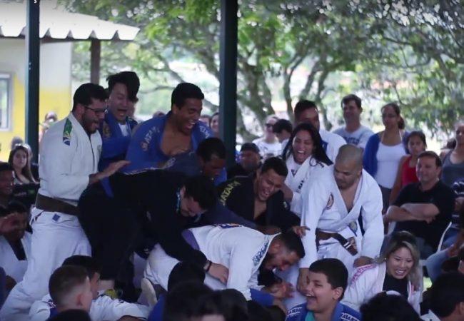 Vídeo: Família, graduação e estilo de vida do Jiu-Jitsu na academia Marangoni
