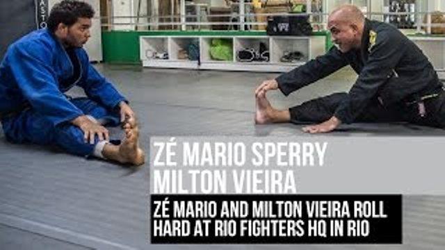 O treino de Jiu-Jitsu que só nós vimos: Zé Mario Sperry & Milton Vieira