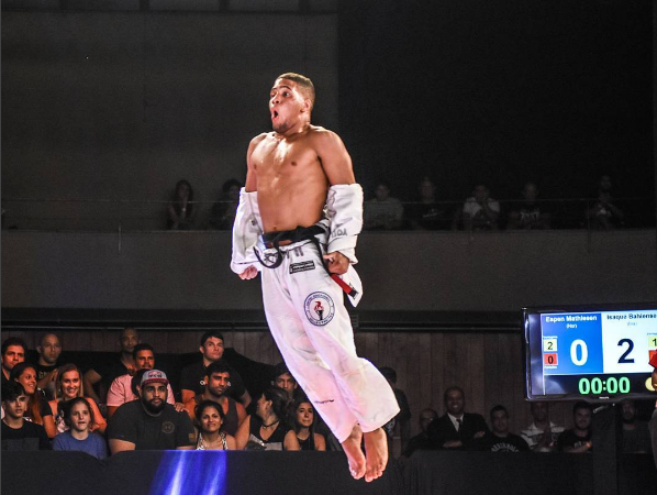 Isaque Bahiense on Copa Podio title, submission of Celso Venicius