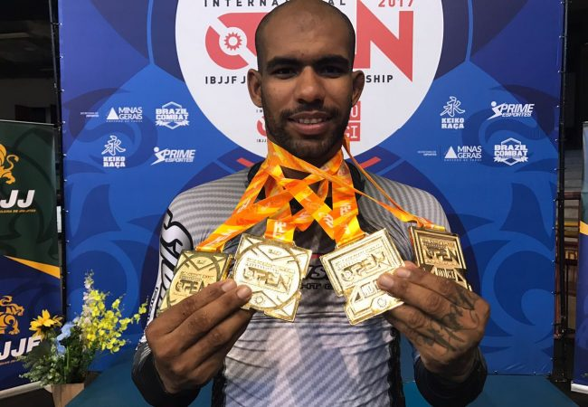 Erberth Santos wins quadruple gold at BH Open