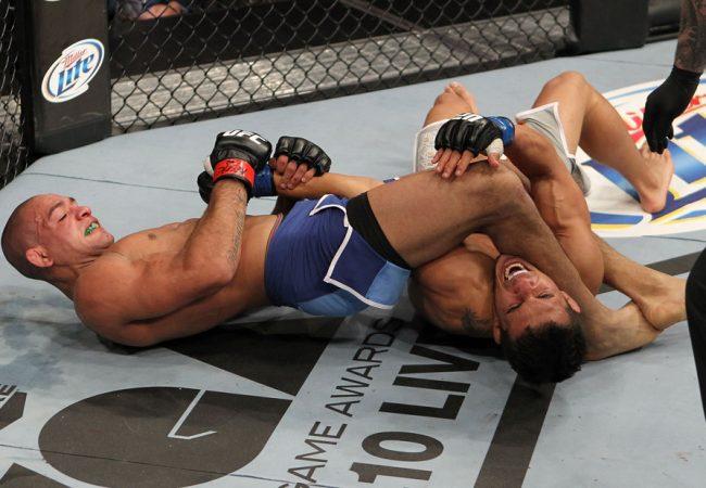 BJJ: Former UFC fighter Diego Brandão does a helicopter armbar