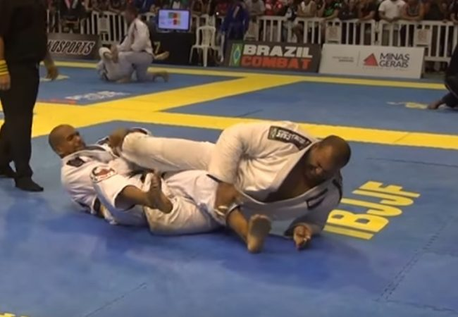 Video: Erberth Santos's foot lock at the BH Open final