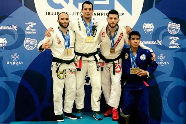 Vinny Magalhães wins double gold at Houston Open