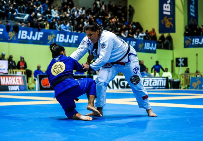 BJJ: Tayane Porfírio's finish in the London Open's absolute division