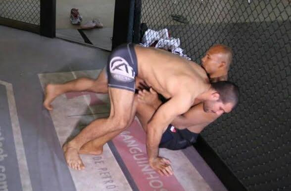 Ronaldo Jacare e Rodolfo Vieira treinam juntos em fevereiro no Rio Foto GRACIEMAG