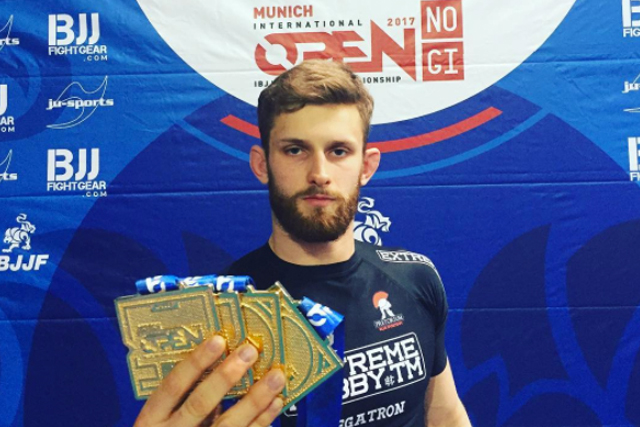 Adam Wardzinski wins quadruple gold at Munich International Open