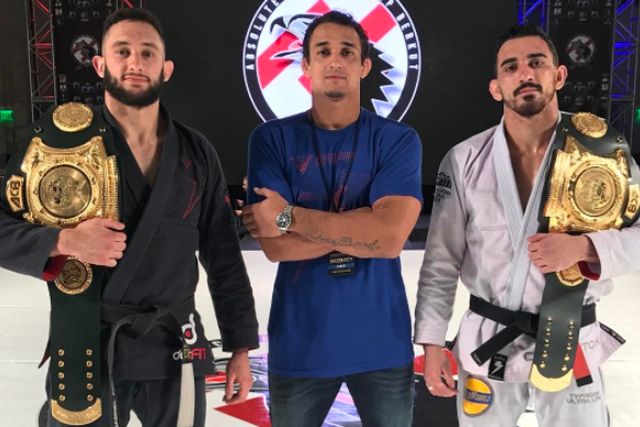 Romulo Barral pupils Gabriel Arges and Edwin Najmi win ACBJJ GP belts