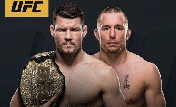 GSP tem retorno marcado e encara Michael Bisping pelo cinturão do UFC
