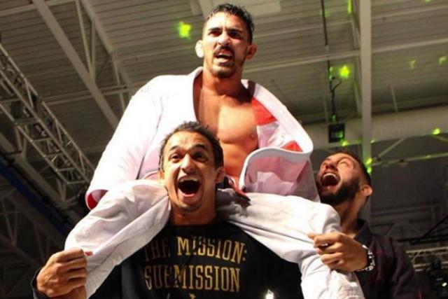 Veja como Edwin Najmi venceu Marcio André de virada no ACB Jiu-Jitsu