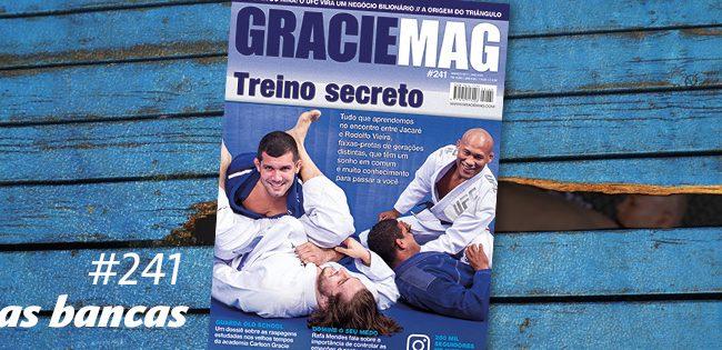 Capa: Ronaldo Jacaré e Rodolfo Vieira, num treino secreto de Jiu-Jitsu
