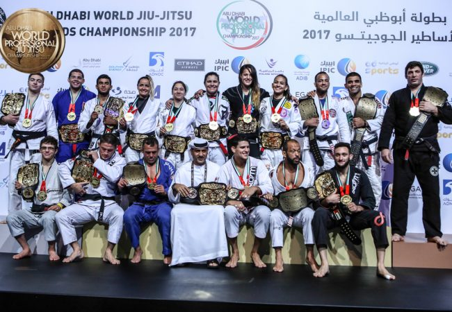 Black Belt champions crowned in Grand Finale for the 2017 Abu Dhabi World Pro