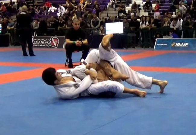 Video: João Miyao's armbar at the New York Open