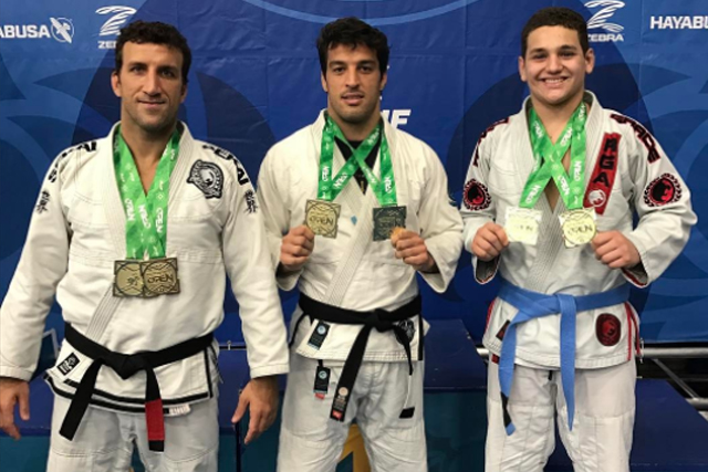 Gracie family wins six gold medals at Boston Open