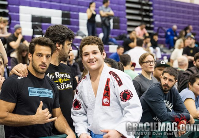 Rayron Gracie and the weight of his 15 years