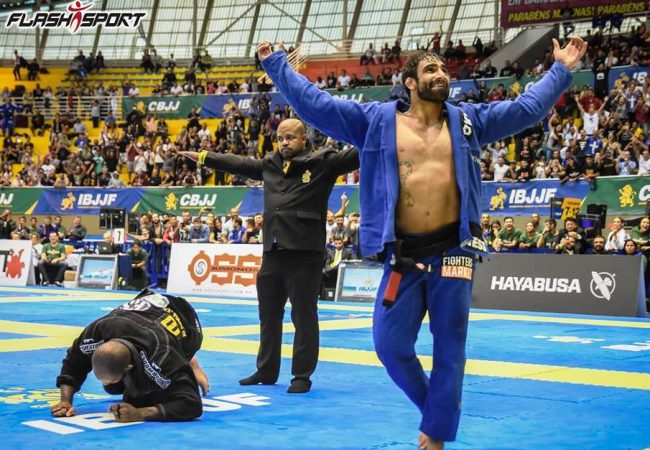 Leandro Lo on winning two finals vs. Erberth at the Brazilian Nationals