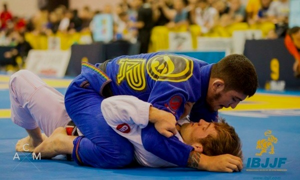 The battle between Dillon Danis and AJ Agazarm for gold at the Atlanta Spring Open