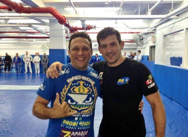 Jiu-Jitsu: o estrangulamento que Renzo Gracie e Demian Maia estudaram em Floripa