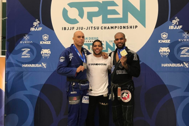 San Diego Open: Erberth Santos and Bia Mesquita win double gold