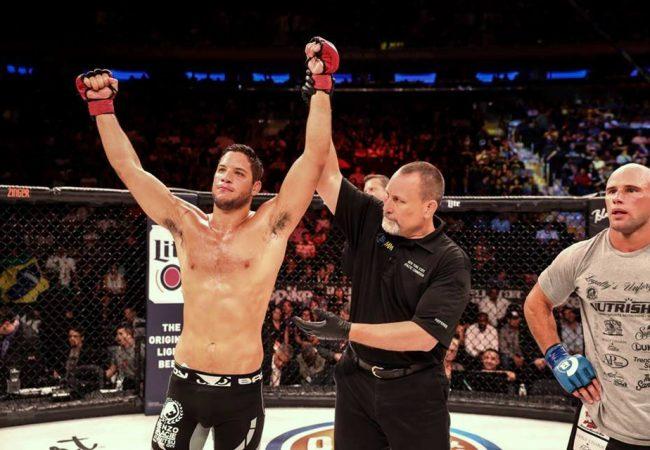 Jiu-Jitsu: Reveja o mata-leão de Neiman Gracie na penúltima luta do Bellator NYC