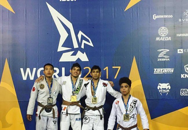 Alex Sodré on winning five bouts to become brown-belt world champion