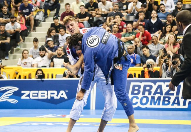 Nicholas Meregali, the man who unseated Leandro Lo at the 2017 Worlds