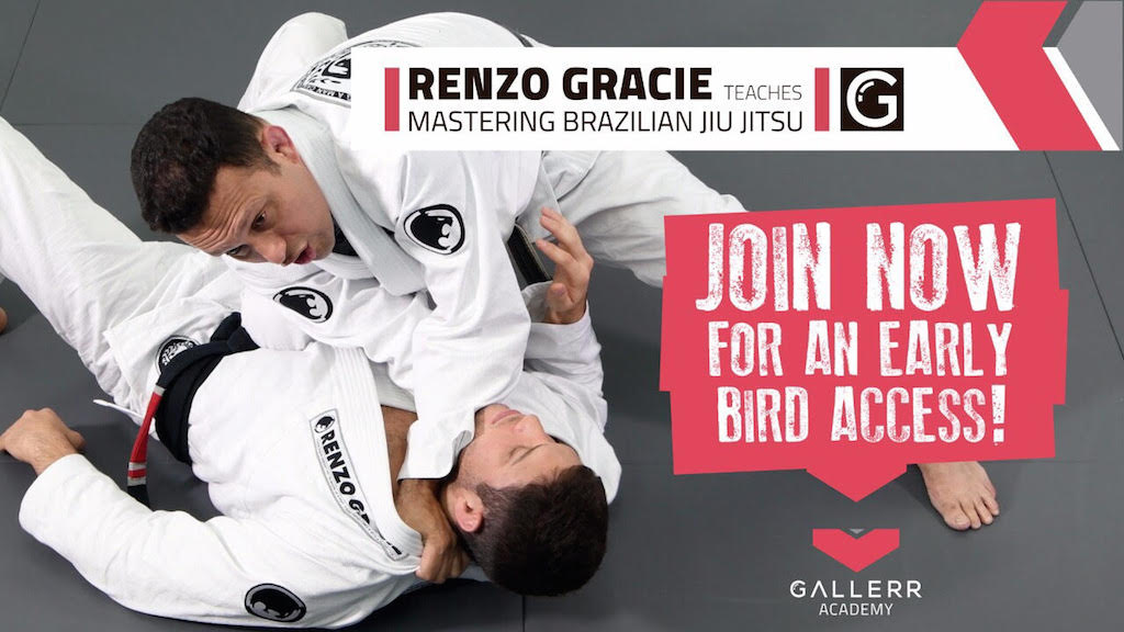 Renzo Gracie ensina em Gallerr