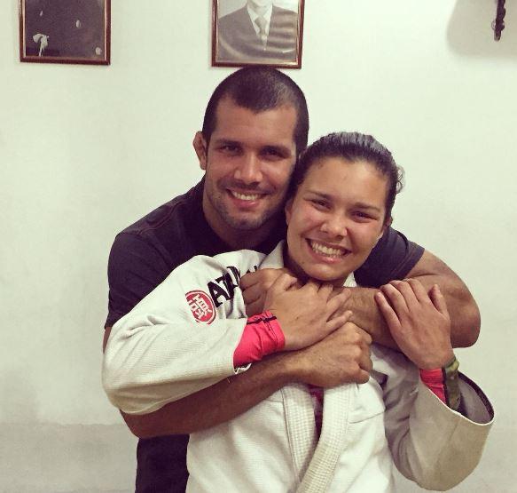 Rodolfo e Ana Carolina Vieira: irmãos campeões mundiais de Jiu-Jitsu da GFTeam. Foto: Acervo Pessoal/GRACIEMAG