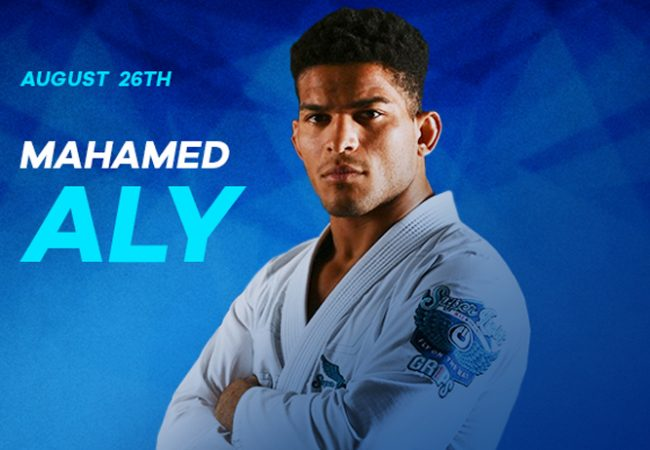 Mahamed Aly is the newest addition to the IBJJF Pro League GP