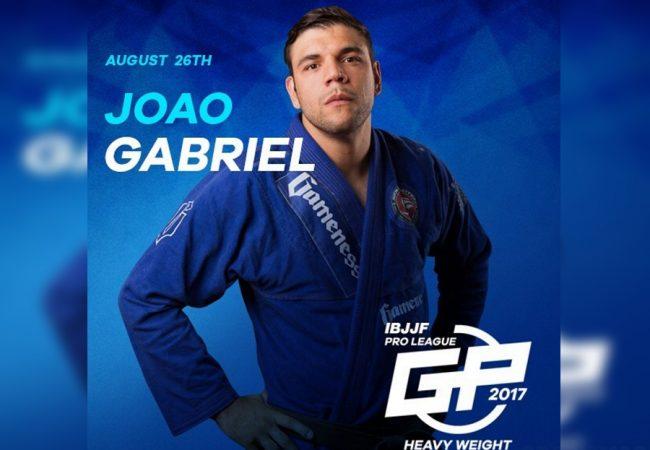 Jiu-Jitsu: João Gabriel Rocha é escalado para o IBJJF Pro League de pesos pesados