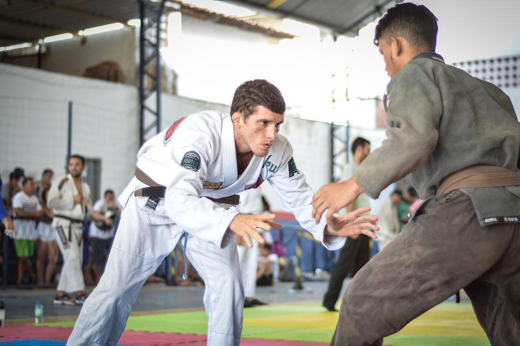 Jonas Bruno foi o melhor faixa-marrom no torneio no Ceará. Foto: Divulgação