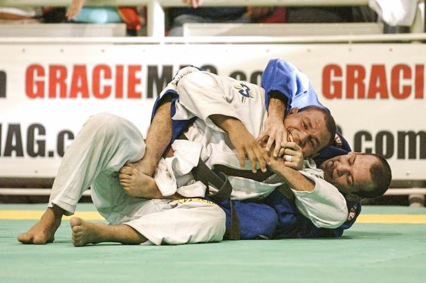 Xande e Cyborg se enfrentaram de kimono no Mundial de 2006. Agora, a disputa será sem pano. Foto: Arquivos GRACIEMAG